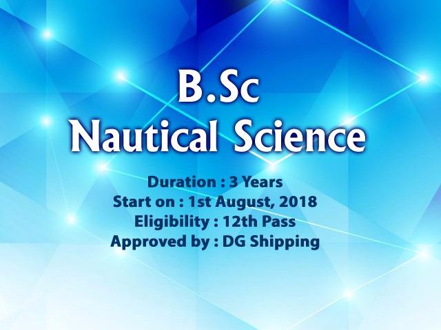 B.Sc Nautical Science